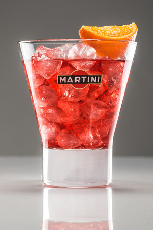 Martini a famous Italian vermouth is the world's fourth most powerful alcoholic brand produced in Turin by Martini and Rossi since 1863