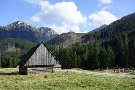 Tatra Mountains in the early autumn scenery Zdjęcie Seryjne
