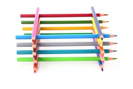 Colour pencils Zdjęcie Seryjne