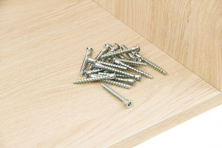 Chipboard with confirmat screws