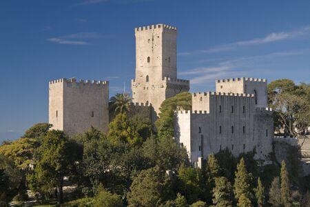 Title Castles of Erice: Hormanno Castle and Torri del Balio Castle photo