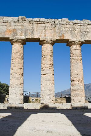 egesta: Doric Temple built probably around 430 BC is one of the most perfect monuments with proportions of rare harmony. The 36 columns of the peristyle are almost completely intact. No one knows to which god was dedicated or if it was ever completed. It appear