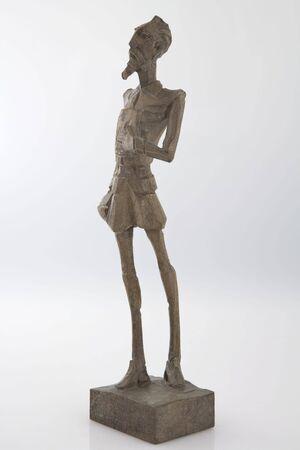 don quichotte: Figure de main en bois de Don Quichotte Banque d'images