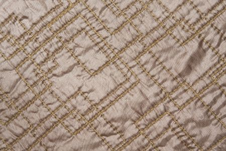 texture of silky smart quilted fabric