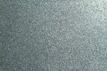 silver glitter full frame textured shiny background Stock Photo