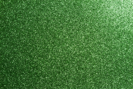 green glitter full frame textured shiny background photo