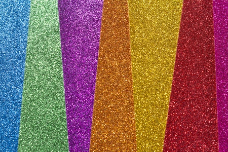 multicolor glitter background with diagonal lines with selective focus Stock Photo - 18555830