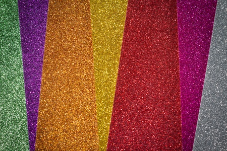 multicolor glitter background with diagonal lines with selective focus Stock Photo - 18555835