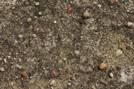 top view background of abstract earthy soil pavement photo