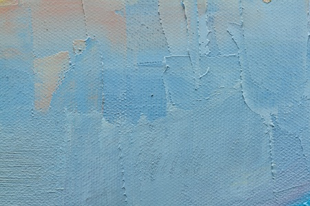 cool colors: abstract wallpaper of oil painting with brush strokes in cool colors