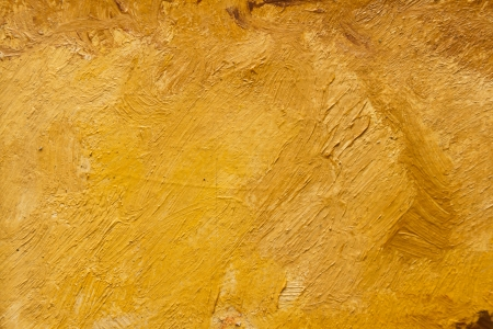 abstract wallpaper of oil painting with brush strokes in warm colors photo