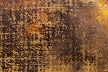 tempera: abstract wallpaper of tempera drawing with crayon strokes Stock Photo
