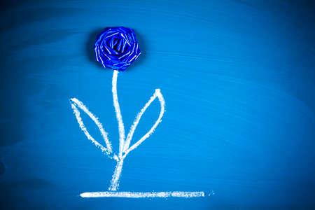 dessin fleur: conceptuel cr�atif dessin de fleur tableau