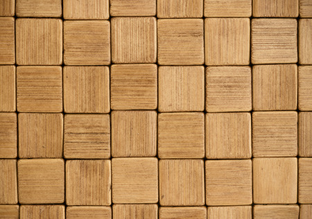 pale color: full frame vintage wooden mosaic in pale color