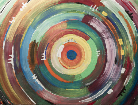 full frame: full frame art paintings wallpaper with colorful circles