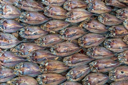 Dried fish at local market, Chonburi, Thailand