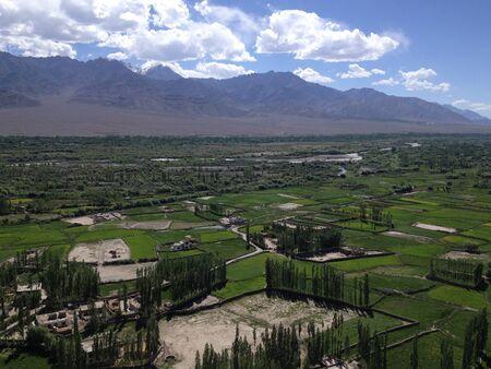 ladakh: Leh Ladakh City, India - Himalayas Stock Photo