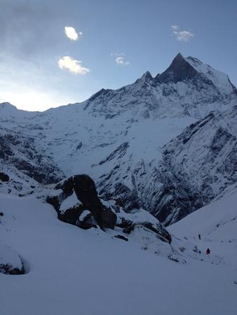 base: Annapurna base camp, Nepal