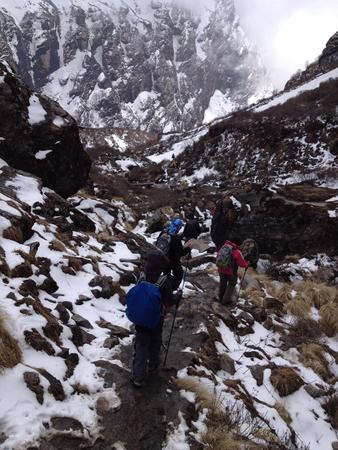 base: Annapurna Base Camp, Himalayas, Nepal