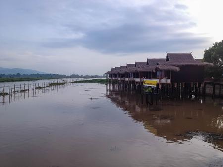 inle: Inle lake resort, Myanmar
