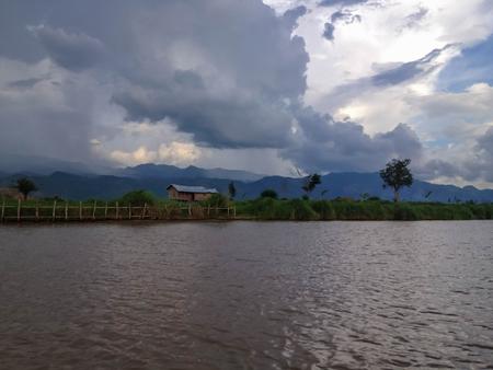 inle: Inle Lake Pier, Myanmar