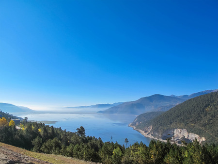 shangrila: Napa Lake in Shangri-La, Yunnan, China