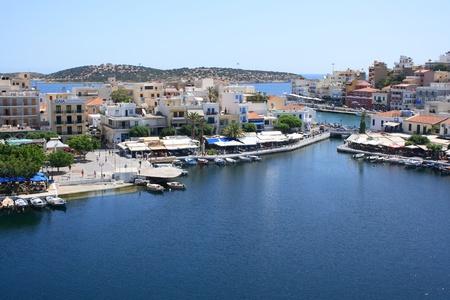 kreta: See Voulismeni in Agios Nikolaos, Kreta, Griechenland