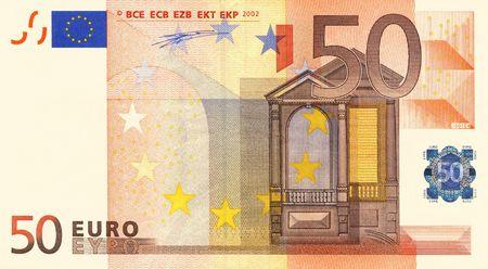 billets euro: Projet de loi 50 Euro  Banque d'images