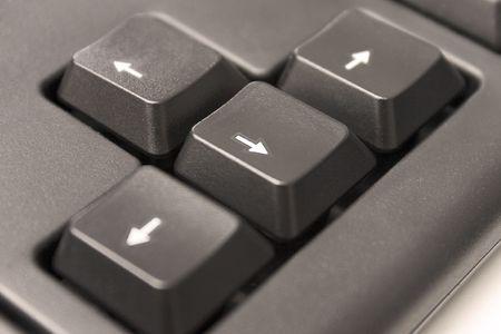 est: Black keyboard arrows