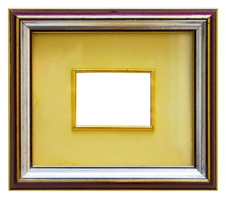 bordering: Small empty picture frame