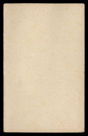 Grungy papel desde principios del 1950 en fondo negro  Foto de archivo - 382402