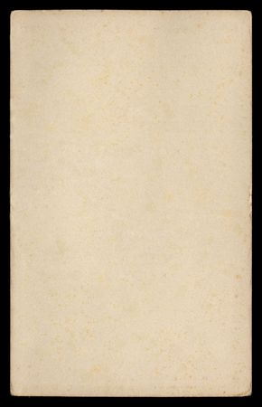 Grungy paper from early 1950's on black background Stock Photo - 382402