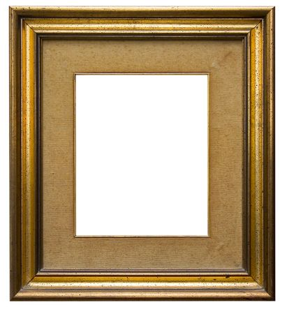 Wooden picture frame isolated Stock Photo - 382401