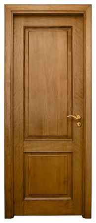 hinged: Isolated Home Door