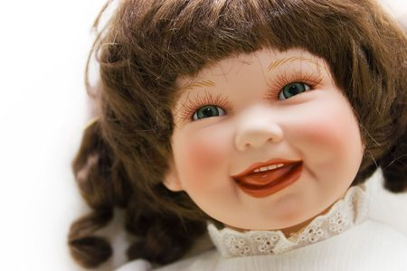 Portrait of a smiling doll photo