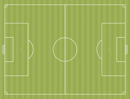 footwork: A soccer field layout