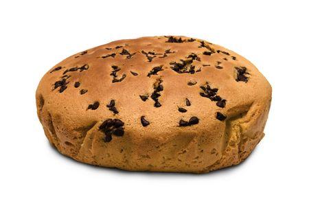 doughy: Chocolate Muffin Cake Stock Photo