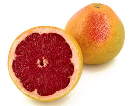 grapefruit - object on a white background