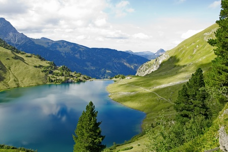 lake on the alps Stock Photo - 9983473