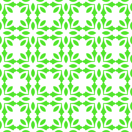Abstract seamless art pattern, Vector seamless pattern. Repeating deco colored geometric ornament Illustration