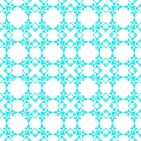 Abstract seamless art pattern, Vector seamless pattern. Repeating deco colored geometric ornament Stock Illustratie