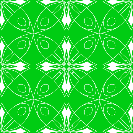 Abstract seamless art deco pattern, Vector seamless pattern. Repeating deco colored geometric ornament