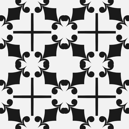 Art deco vintage seamless pattern. Retro design vector illustration