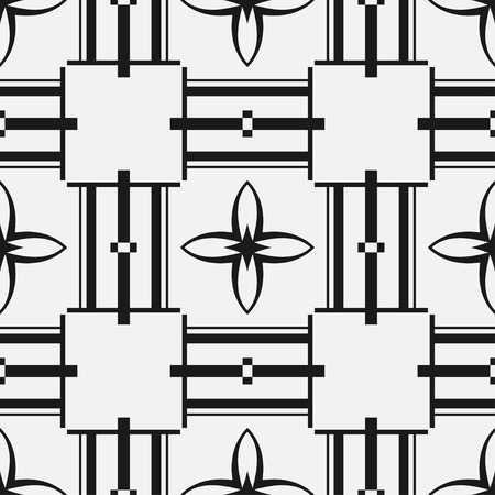 Art deco vintage seamless pattern. Retro design vector illustration