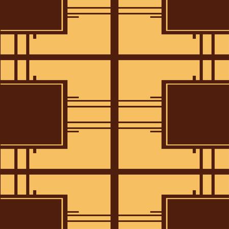 Seamless Art Deco Pattern. Vintage minimalistic background. Abstract Luxury Illustration Vektoros illusztráció