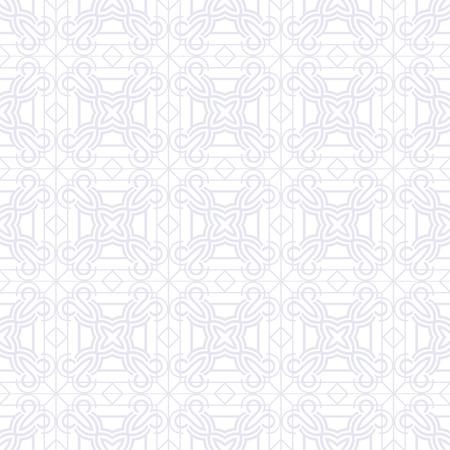 Abstraktes Muster im arabischen Stil. Nahtloser Vektorhintergrund. Grafisches modernes Art-Deco-Muster