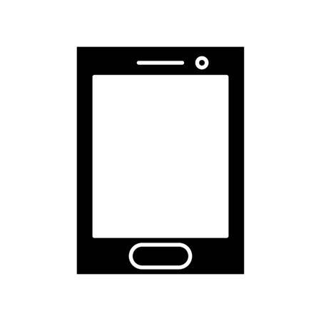 Smartphone icon vector illustration. Flat Icon Mobile Phone, Handphone