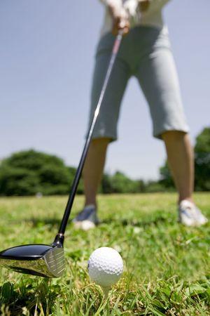 ゴルフ 写真素材