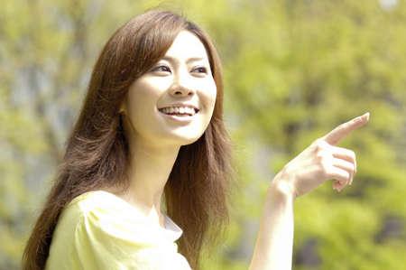 verdure: Verdure and woman Stock Photo