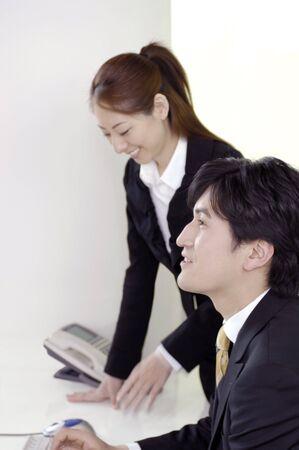 business scene: Business scene